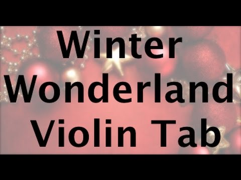 Learn Winter Wonderland on Violin - How to Play Tutorial