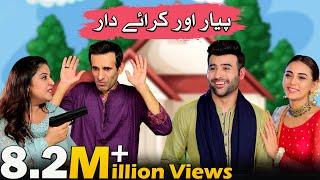 New Comedy Film 2021 | Pyaar Aur Kirayedar | Faizan Shaikh & Maryam Noor | LTN Family
