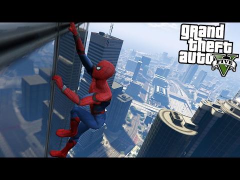 GTA 5 MODS - BEST SPIDERMAN MOD