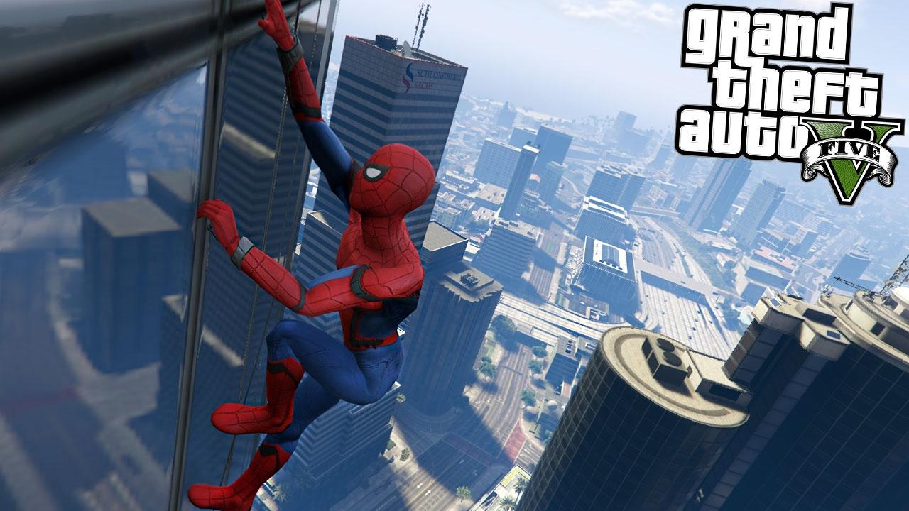 free 5 new mod gta download spiderman