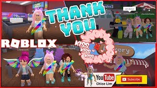 THANK YOU FOR 3000 SUBSCRIBER & My Birthday Bash On Roblox! Roblox Bakers Valley Gameplay!