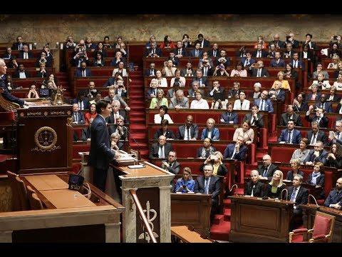 Extrait du discours de Justin Trudeau à l'Assemblée nationale française