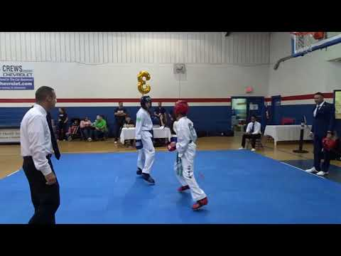 Andrew Sparring Exhibition