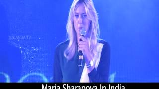 Maria Sharapova regrets about her shoulder injury -11th November 2012 interview