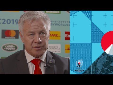 Georgia head coach Milton Haig reacts to Rugby World Cup draw