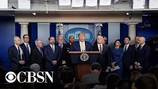 Watch live: President Trump and Coronavirus Task Force hold briefing at the White House