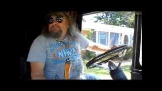 Riding with Rusty, the Rat rod Stepvan!