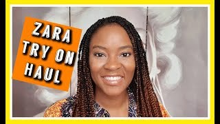 My First ZARA TRY ON HAUL 2019 & Small Youtuber Shout-out - In'utu J. Mubanga
