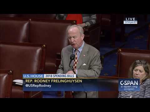 Chairman Frelinghuysen leads FY18 Making America Secure Appropriations Act to passage