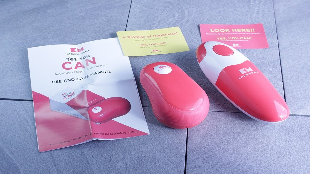 Blair Electric Can Opener Smooth Edges Automatic Electric Can Opener for Home Kitchen Restaurant