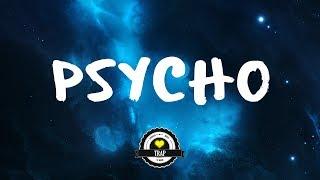 Luca Lush - Psycho (feat. Synchronice &amp AERYN)(Lyric Video)