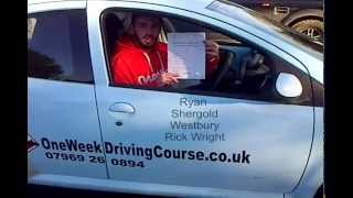 Intensive Driving Courses Westbury | Driving Lessons Westbury