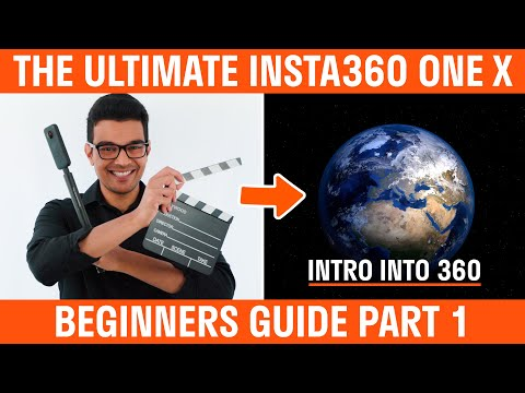 Insta360 One X Beginners Guide | Part 1 | Intro To 360