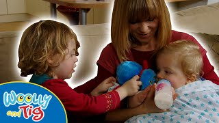 Woolly and Tig - Baby Sitting | TV Show for Kids | Toy Spider