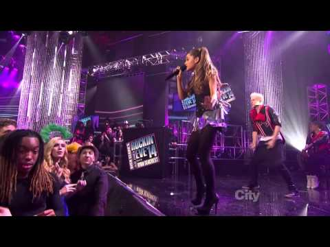 Ariana Grande - Right There ft. Big Sean (Dick Clark's New Years Rockin' Eve in Times Square)