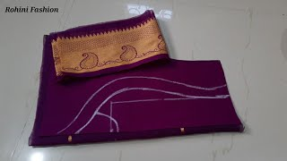 Blouse design|Cutting and stitching back neck