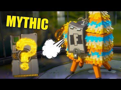 Mythic Loot! | Fortnite Llama Loot | Best Llamas Save The World