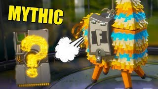 Mythic Loot! | Fortnite Llama Loot | Best Llamas Save the World