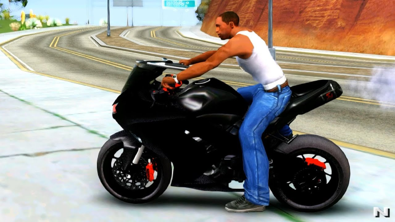 kawasaki ninja 300 fi modification gta san andreas mod youtube