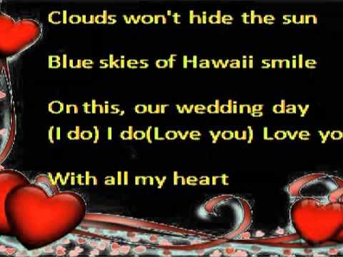 Hawaiian Wedding Song Melody Chords Lyrics Thomascow