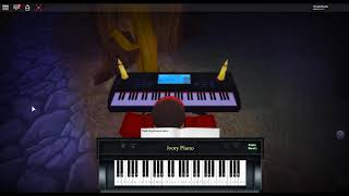 Kill Yourself - Make Happy by: Bo Burnham su un pianoforte ROBLOX.