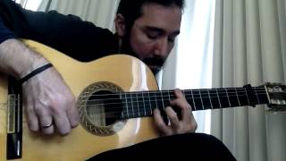 Flamenco Tremolo Exercise - 10 (Cuando Canta el Gallo by Paco de Lucia)