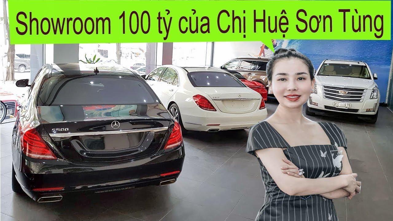 Khám phá Showroom 100 tỷ của Chị Huệ Sơn Tùng Auto đầu năm có gì?