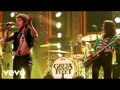 "Greta Van Fleet ""When The Curtain Falls"" (Live On The Tonight Show Starring Jimmy Fallon)"