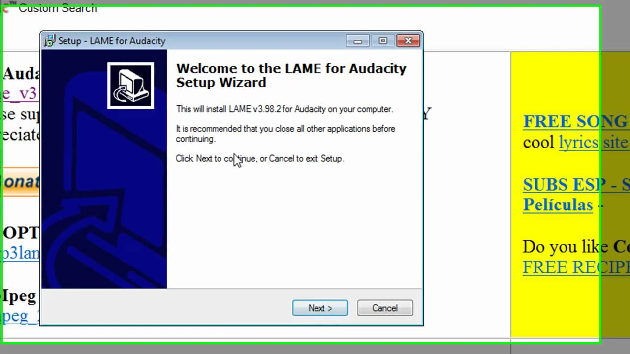 Lame Mp3 Encoder Audacity
