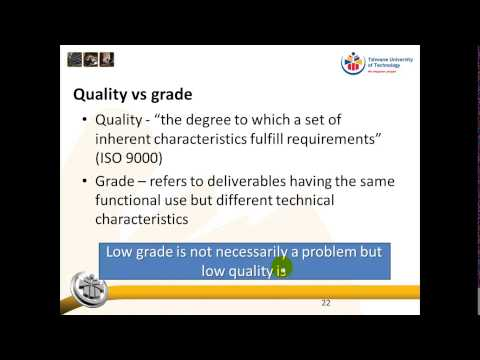 Theme 1: Quality in general