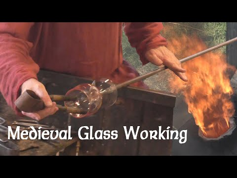 Ancient technology: Saxon glass-working experiment