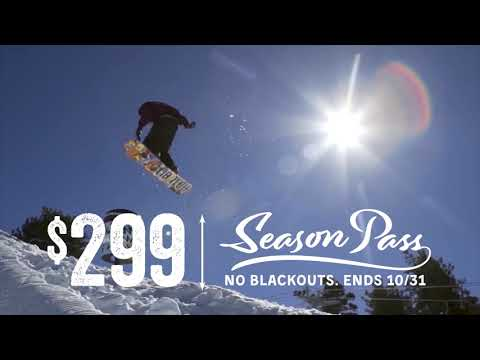 $299 Mountain High Season Pass Sale
