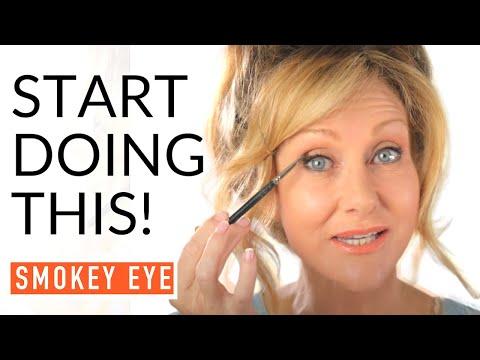 Smokey Eye Tutorial For Mature Eyes | Fabulous50s!