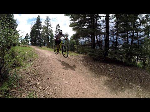 Easy Street trail, Angel Fire, NM, Downhill Mountain Bike Park MTB