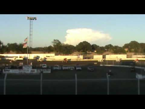 Sprint Series of Texas at Kennedale Speedway Park 7-30-11 heat #4