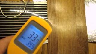 Как быстро происходит прогрев инфракрасной плёнки