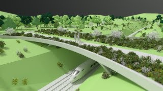 HS2 green corridor animation