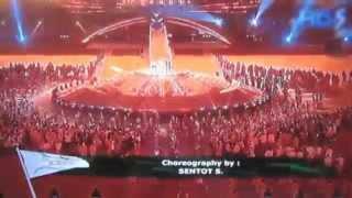 Penutupan SEA Games 2011 | Wa E Wa E O - Kita Bisa