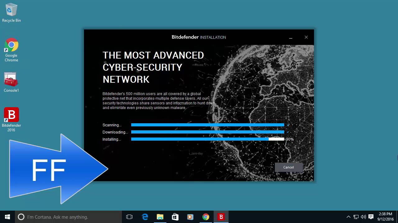 How to Install Bitdefender 2017 + Recommended Configuration - YouTube