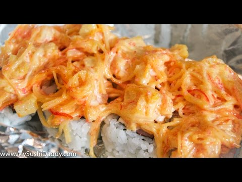 How to Make Volcano Sushi Roll With Baked Seafood Dynamite on Top