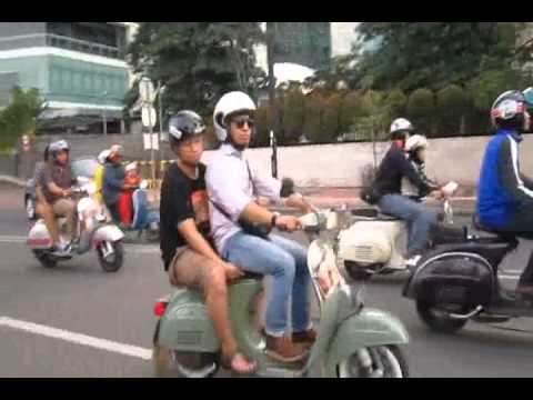 Indonesia Scooter Society - Rolling Thunder with FORIDER