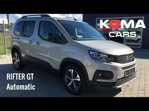Peugeot Rifter GT (Short L1) 7 Seats, (demonstration, interier, exterier, walkaround.