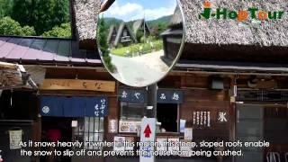 Shirakawa-go round bus trip video by J-hop Tour (English version)
