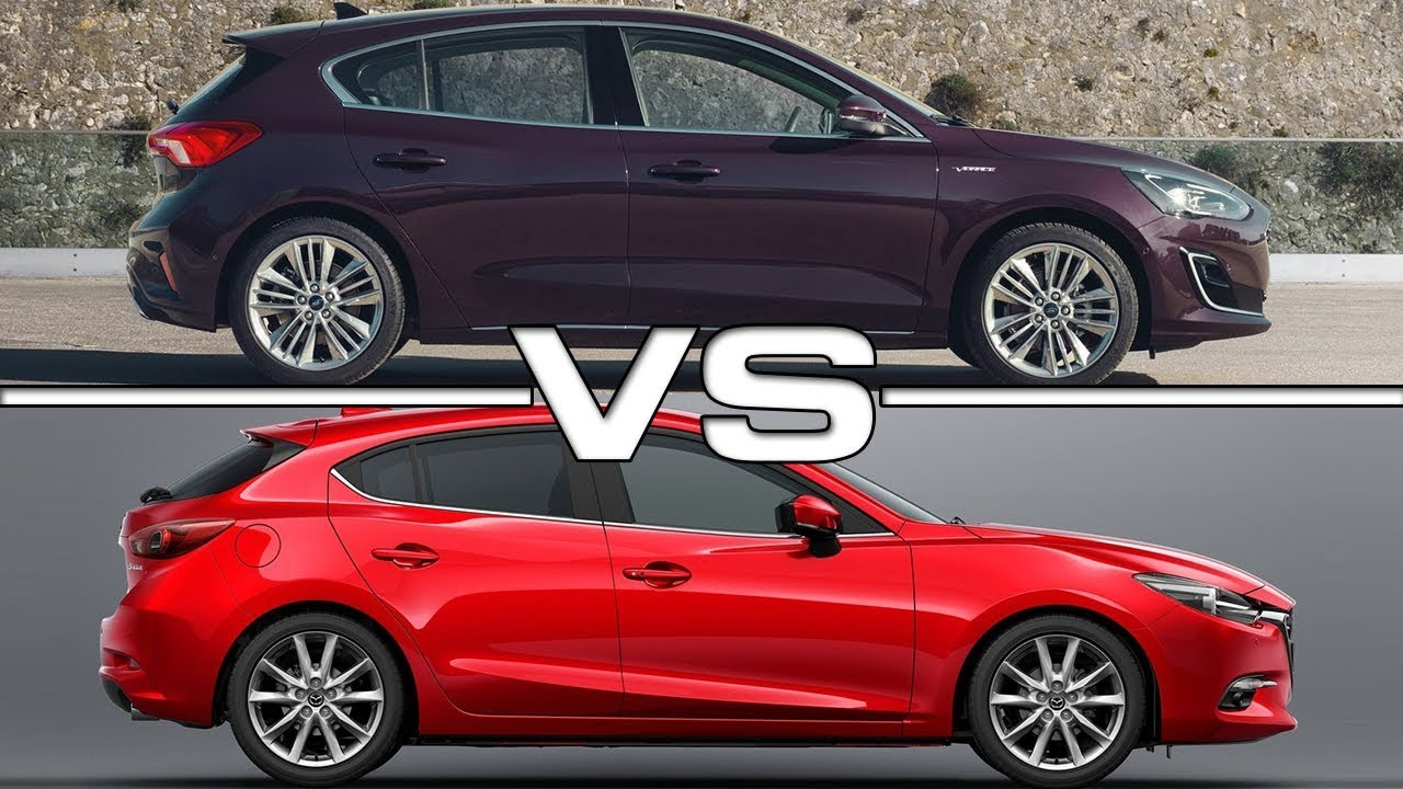 2019 Ford Focus Vs 2018 Mazda 3 Technical Specifications