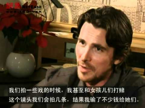 Interview Of Christian Bale & Zhang Yimou For 'The Flowers of War' ~ Pt. 2/2