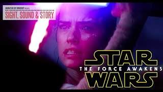 """Star Wars: The Force Awakens"" Editor Mary Jo Markey, ACE on Cutting Rey's First Lightsaber Duel"