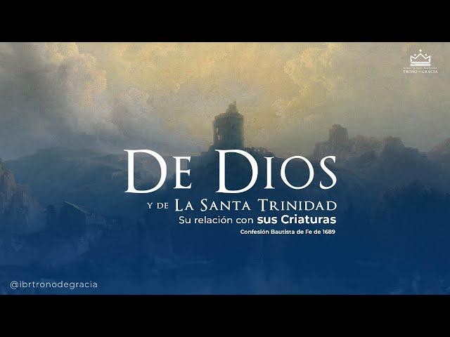 Dios y su relación con sus criaturas / Clase bíblica / Ps Ruben Contreras