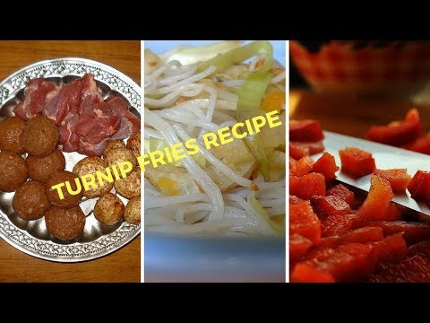 Turnip Fries Recipe