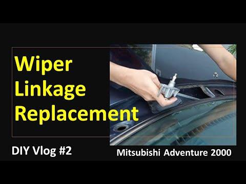 DIY Vlog#2 Wiper Linkage Replacement Mitsubishi Adventure 2000