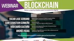 Webinar Blockchain: retos y oportunidades para la economía digital